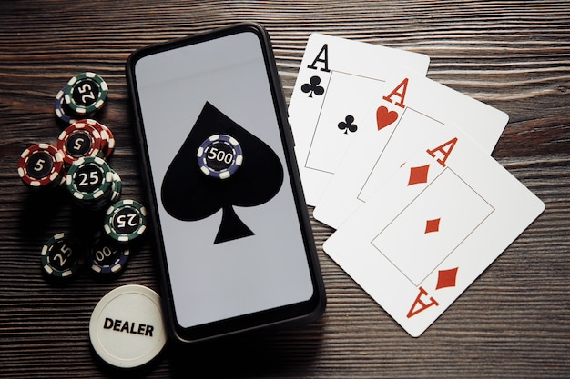 オンラインポーカーカジノのテーマ