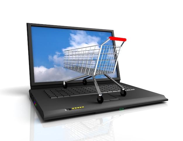 オンラインショッピングのコンセプト