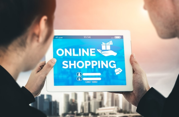 Online shopping and internet money payment transaction technology