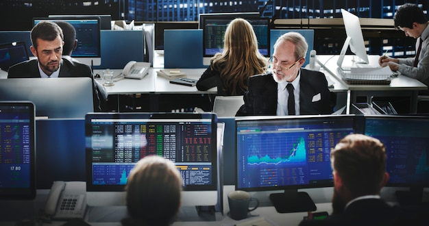 Online stock exchange team