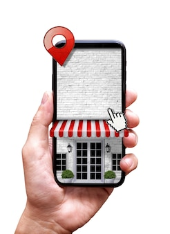 Online store in mobile phone