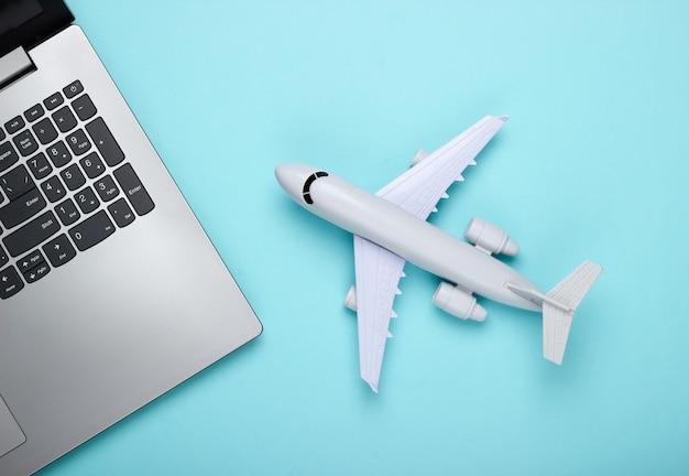 Online ticket booking. choosing a travel destination.