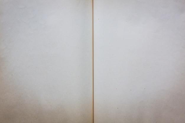 Открытая пустая книга
