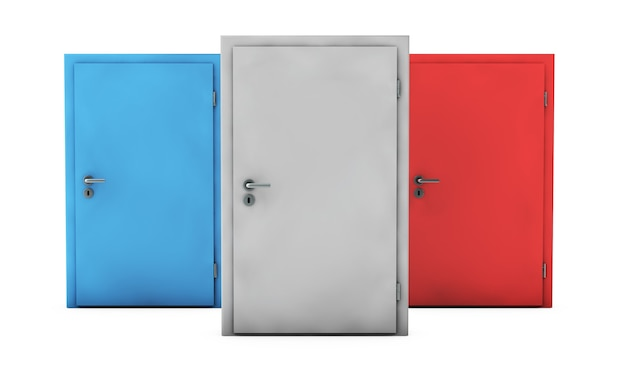 Open the door , this is a computer generated and 3d rendered