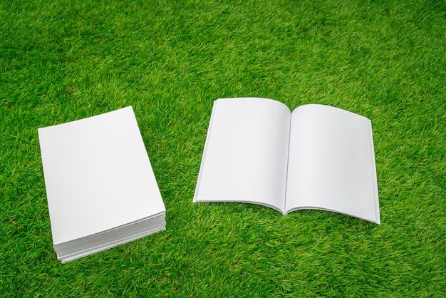 Открыть ноутбук и стопку бумаг