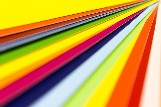 Open sample colors catalogue, samples for colour definition.