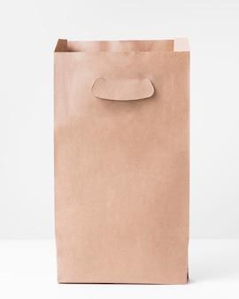 오픈 쇼핑 갈색 종이 봉지