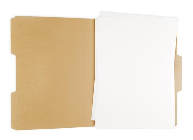 Открытая папка с файлом в ней.
