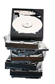다른 하드 드라이브에있는 하드 디스크 드라이브를 열었습니다.