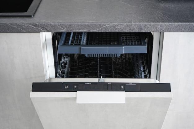 食器洗い機の開閉