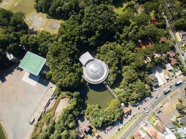 오페라 드 아라 메, 문화와 자연이 같은 곳, 브라질 파라나 주 쿠리티바시의 전통 관광지,