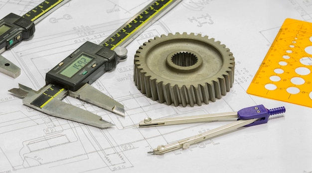 Operator design and inspection automotive parts