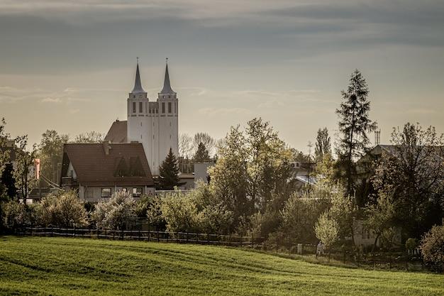 Opole-szczepanowice panorama of the town
