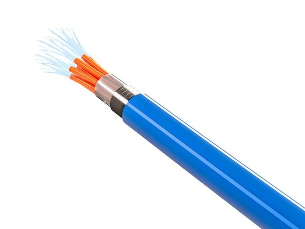 Optical 3d fiber