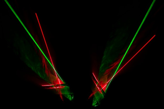 Оптический лазер горизонтальный фон