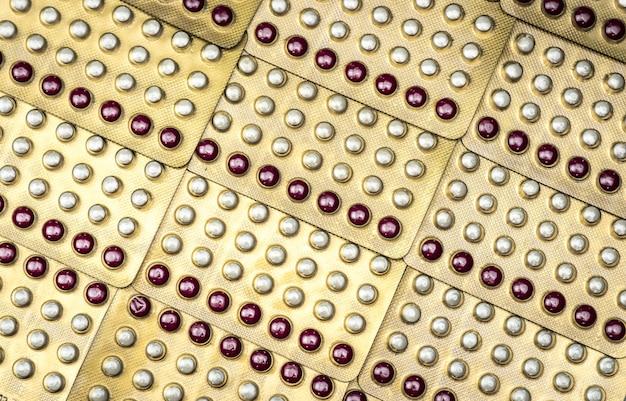 Oral contraceptive pills, birth control pills.