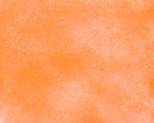 Orange abstract watercolour ink backdrop