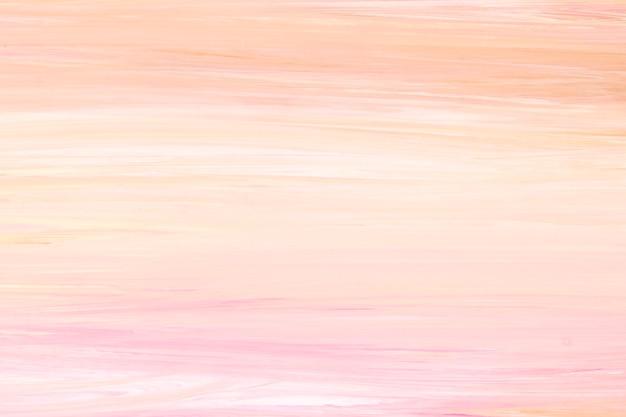 オレンジ色のアクリル絵の具のテクスチャ背景