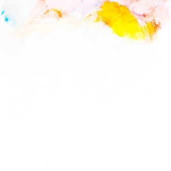 Оранжевый и синий абстрактный рисунок