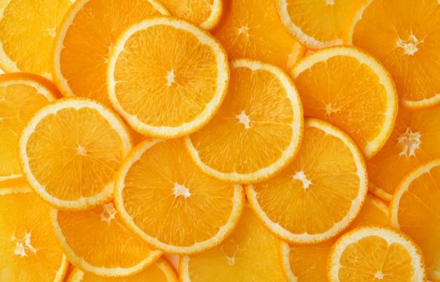オレンジとグレープフルーツの柑橘類のスライス