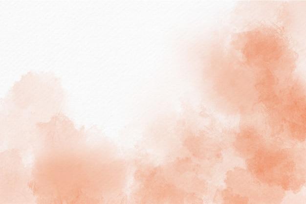 オレンジとピンクの水彩の抽象的な背景