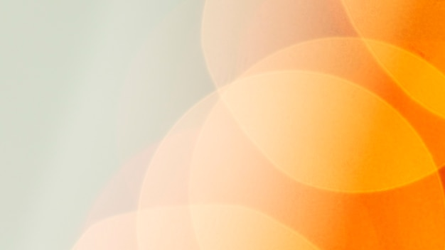 오렌지 나뭇잎 무늬 배경 벽지
