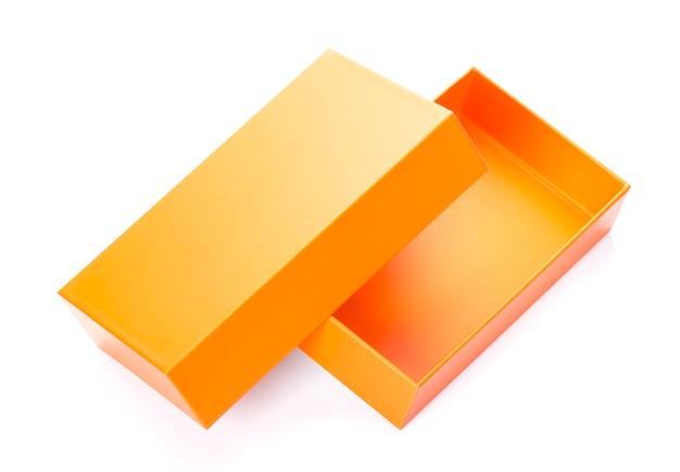 Orange box mock up