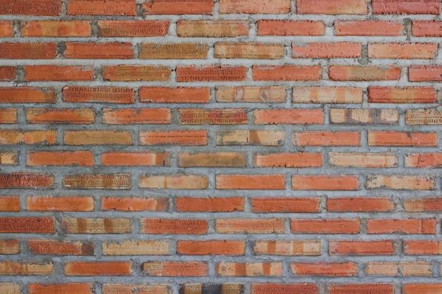Orange brick wall background