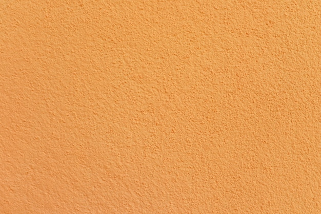 Orange cement or concrete wall texture for background