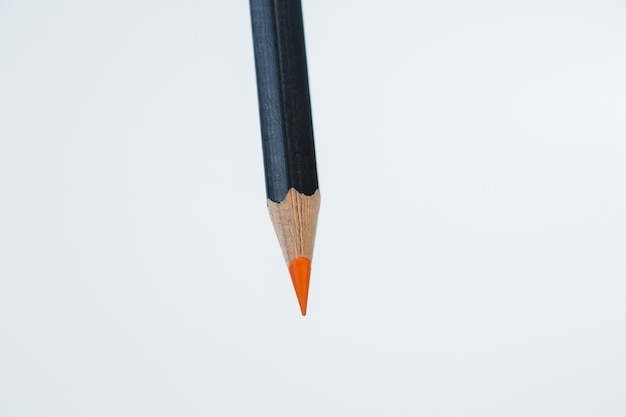 Orange color pencil