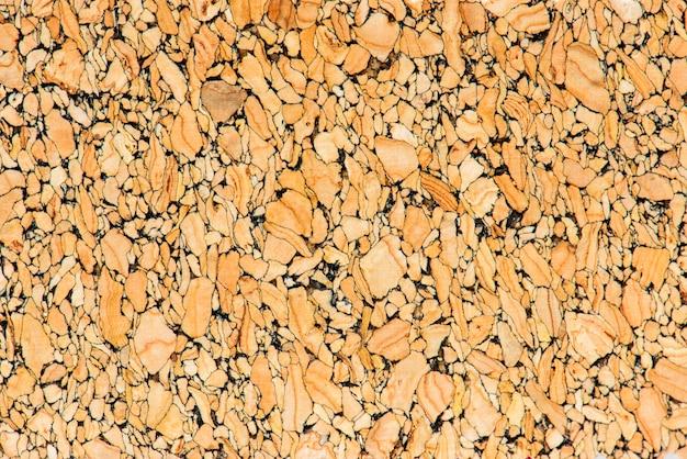 Orange cork fabric closeup