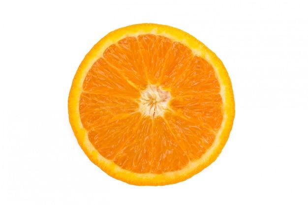 오렌지 컷 근접 촬영 프리미엄 사진