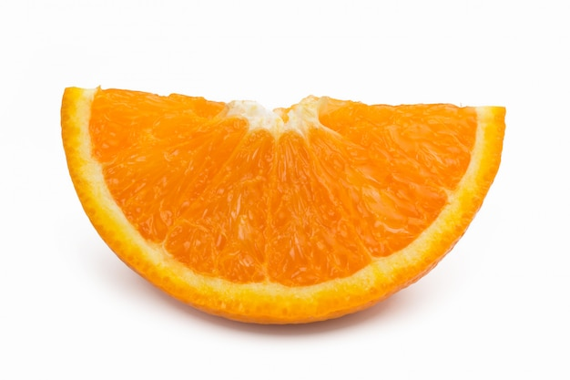 오렌지 컷 근접 촬영