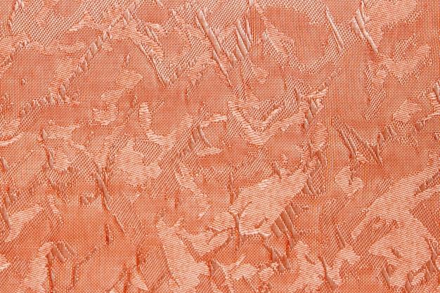 Orange fabric blind curtain texture