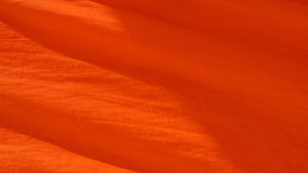 Orange fabric texture - background