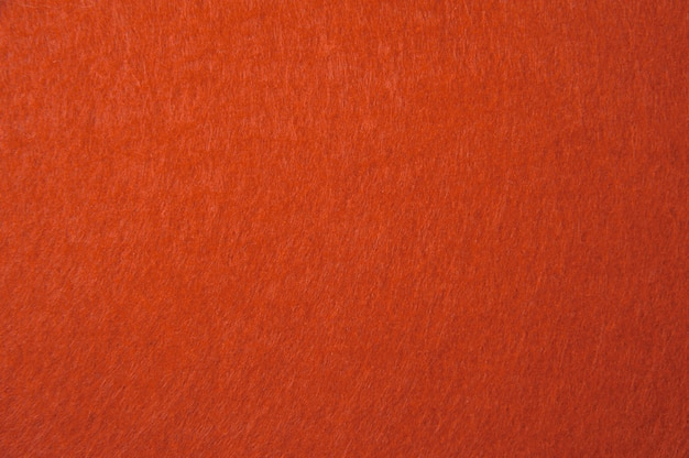 Orange felt texture for background