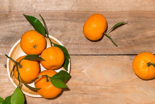 Апельсин на китайский новый год по лунному календарю. концепция праздника тет.