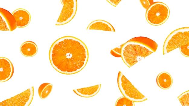 오렌지 과일 절연입니다. 오렌지 비행.