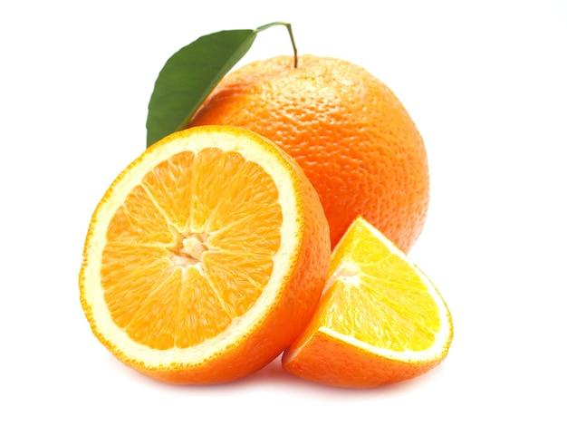 Оранжевый плод изолированные