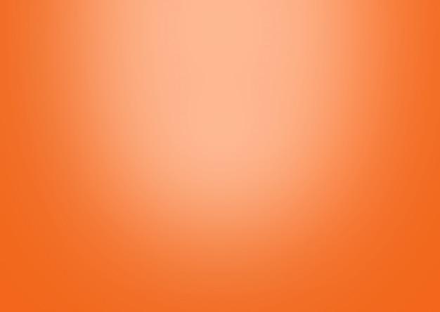 Orange gradient background abstract.