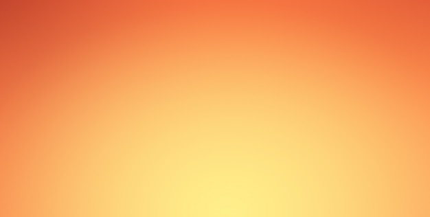 Orange gradient background with spotlight shine on center and vignette border.