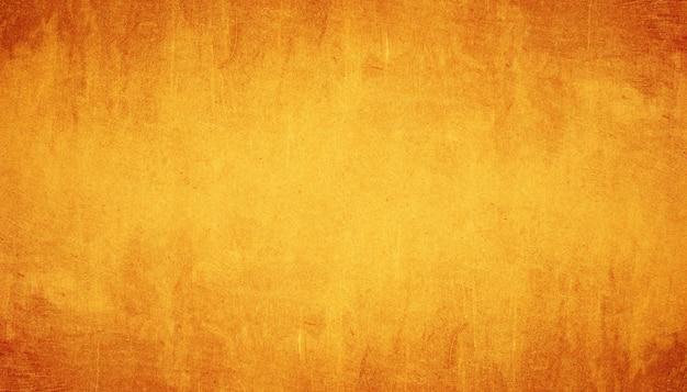 オレンジ色のグランジテクスチャ