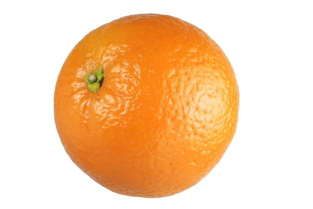 白い背景にオレンジ色の分離+クリッピングパス