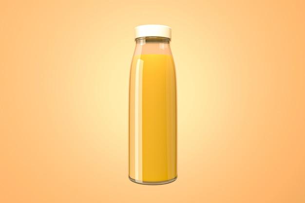 オレンジジュースボトル