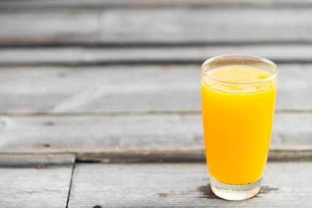 オレンジジュースグラス