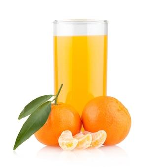 オレンジとオレンジジュース