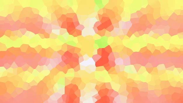 Оранжевая мозаика абстрактные текстуры фона, узор обои
