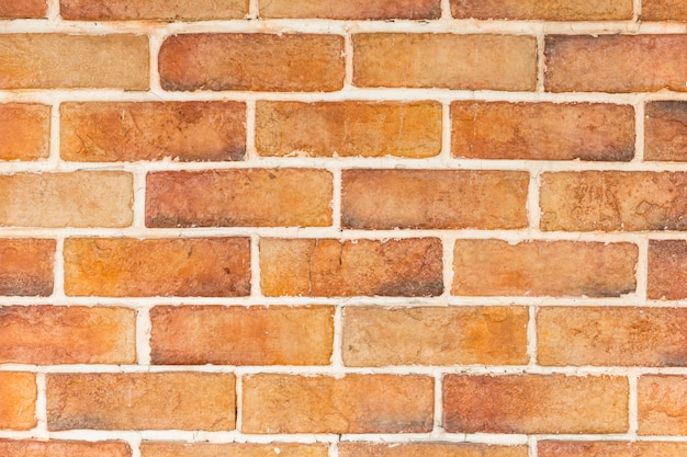 Orange new modern brick background