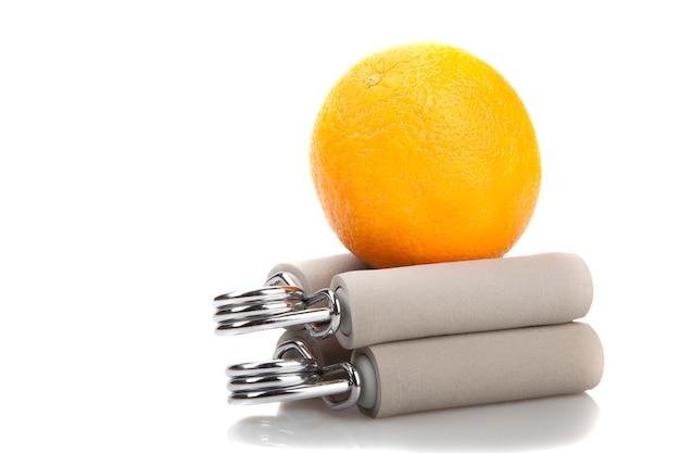 Апельсин на двух запястьях