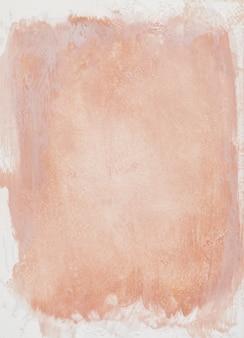 캔버스에 주황색 페인트